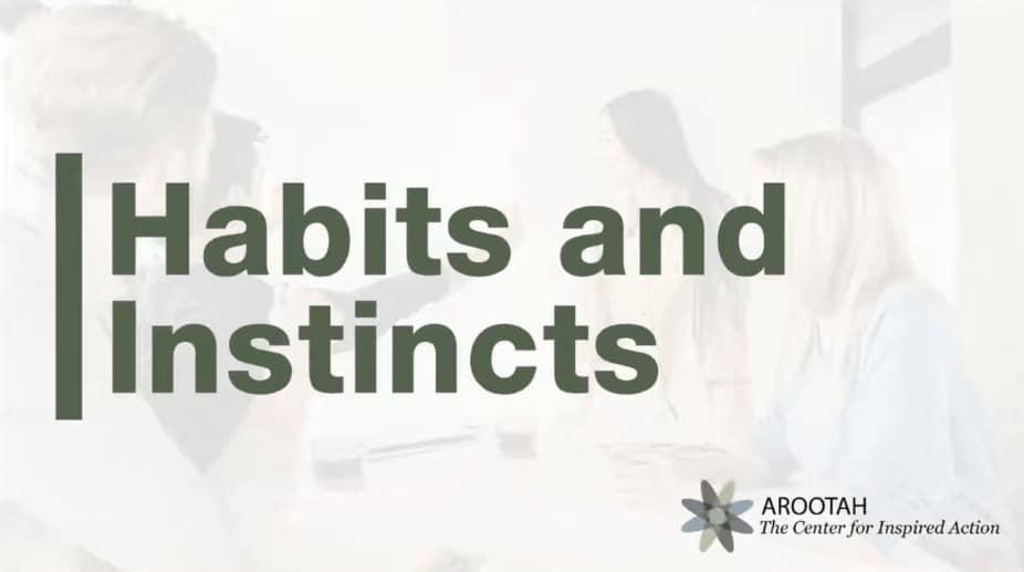 Episode 2 – Habits and Instincts