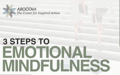 3 Steps to Emotional Mindfulness
